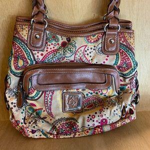 Rosetti Paisley Multi Openings Vintage Bag